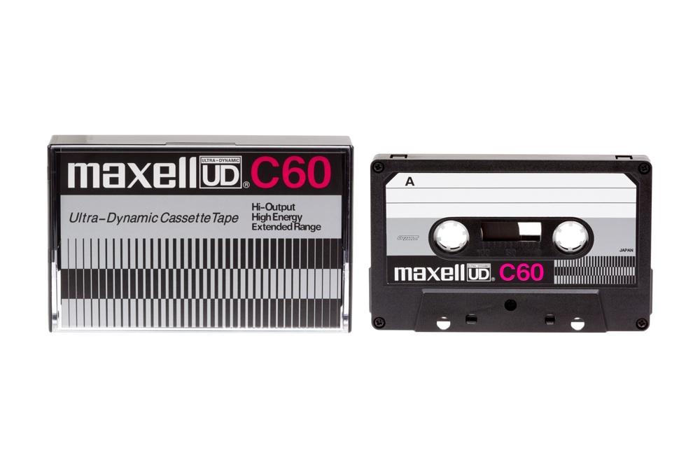 マクセル カセットテープ「UD」