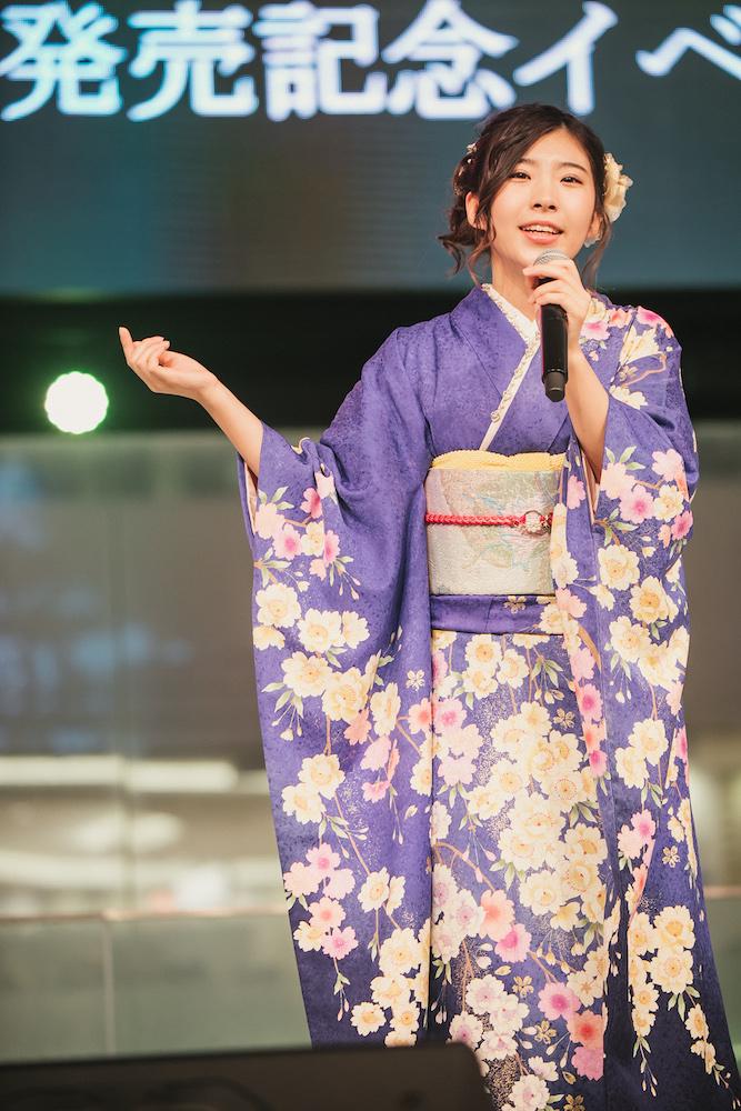 岩佐美咲ニューアルバム発売イベント