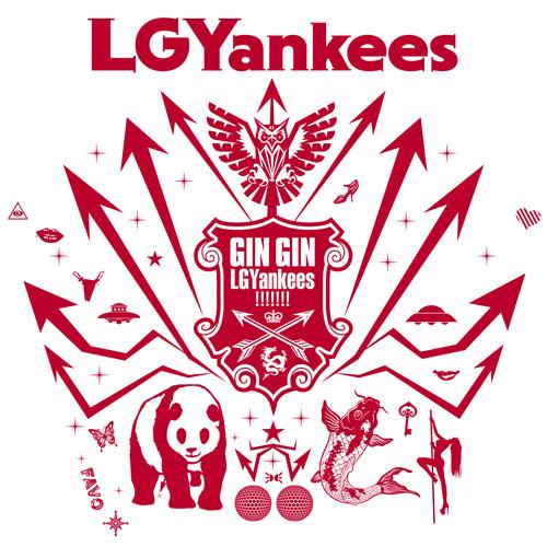 LGYankees アルバム『GIN GIN LGYankees!!!!!!!』TYPE-Bジャケット