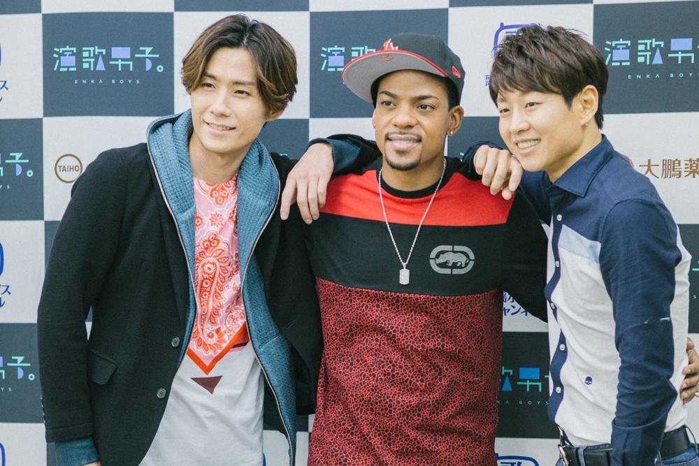 川上大輔、パク・ジュニョン、ジェロ出演、「演歌男子。」第四弾が4月からスタート