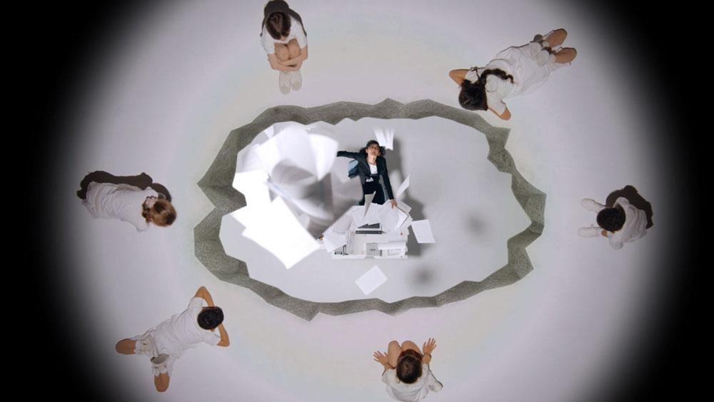 『夢の中へ』ミュージックビデオ キャプチャ