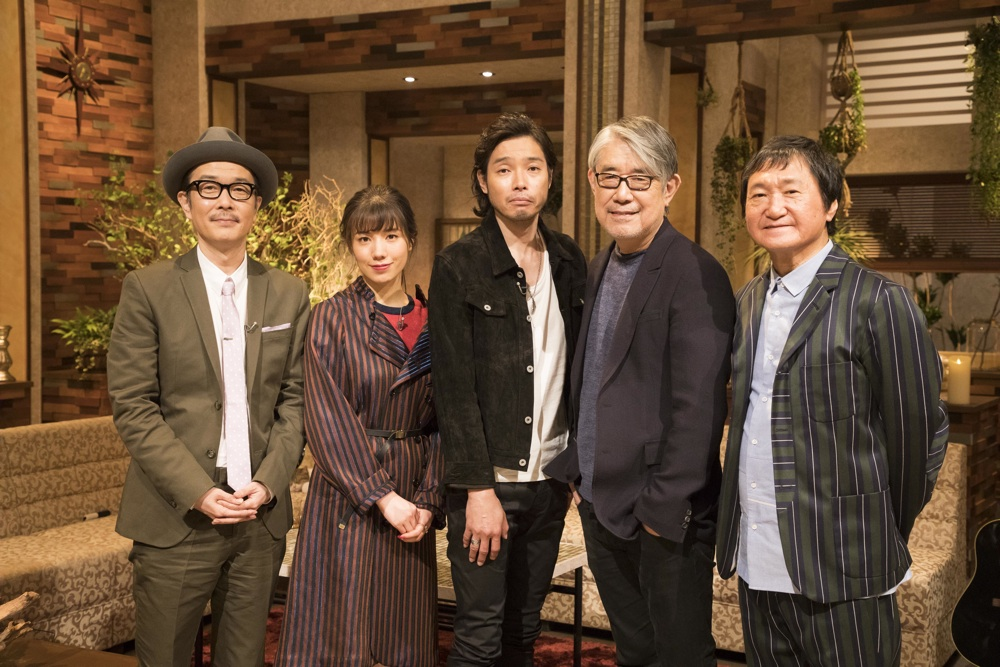 『The Covers』がリニューアル、初回ゲストに斉藤和義、松本隆、南佳孝