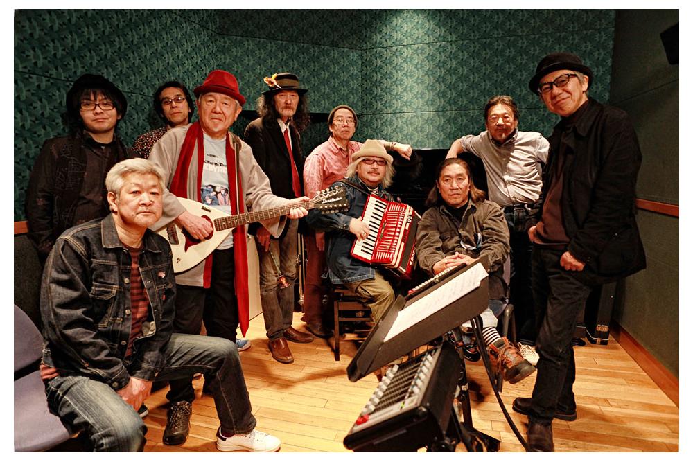 あがた森魚、デビュー45周年アルバムのリリースを記念し特別番組を配信