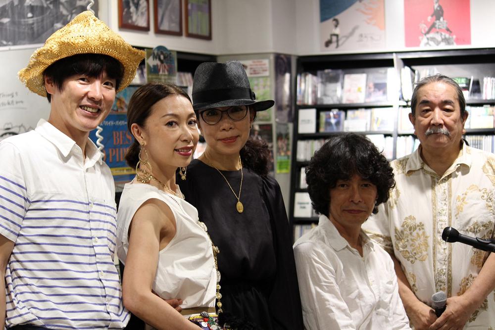 佐藤奈々子、初インストアに、カジヒデキ、野宮真貴が飛び入り参加