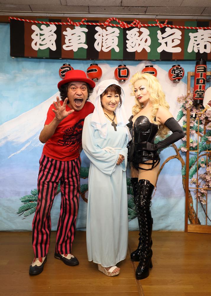 井上由美子が女性限定・男性限定の夏フェスを浅草ヨーロー堂で開催