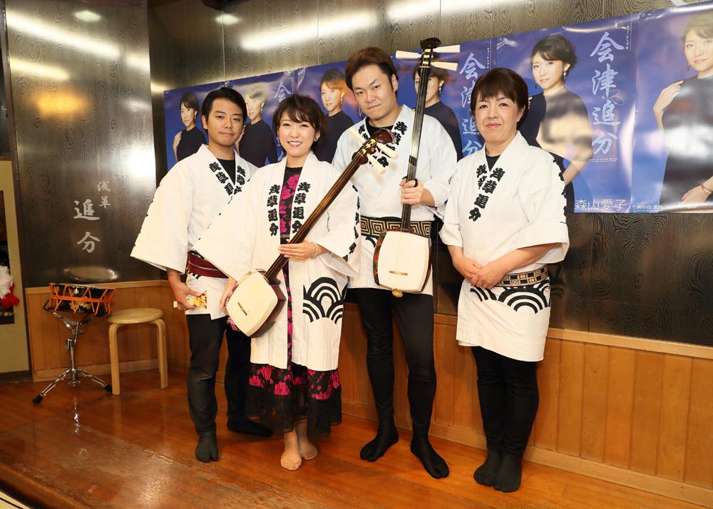 森山愛子がご当地ソング発売で演歌と民謡のコラボに挑戦
