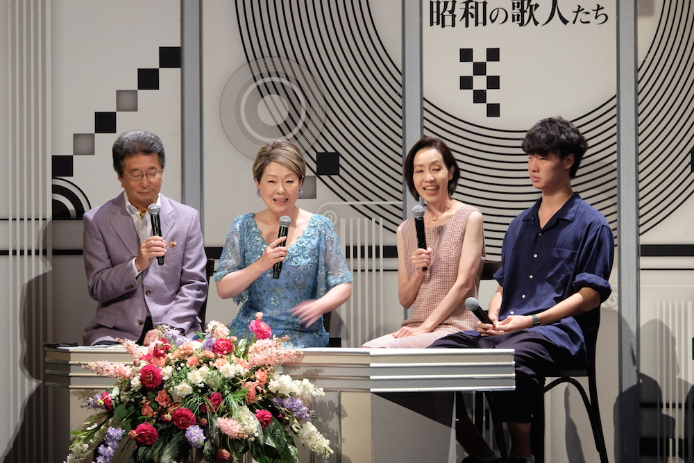 <第35回 昭和の歌人たち>開催。永六輔特集で、ジェリー藤尾、デューク・エイセスら熱唱
