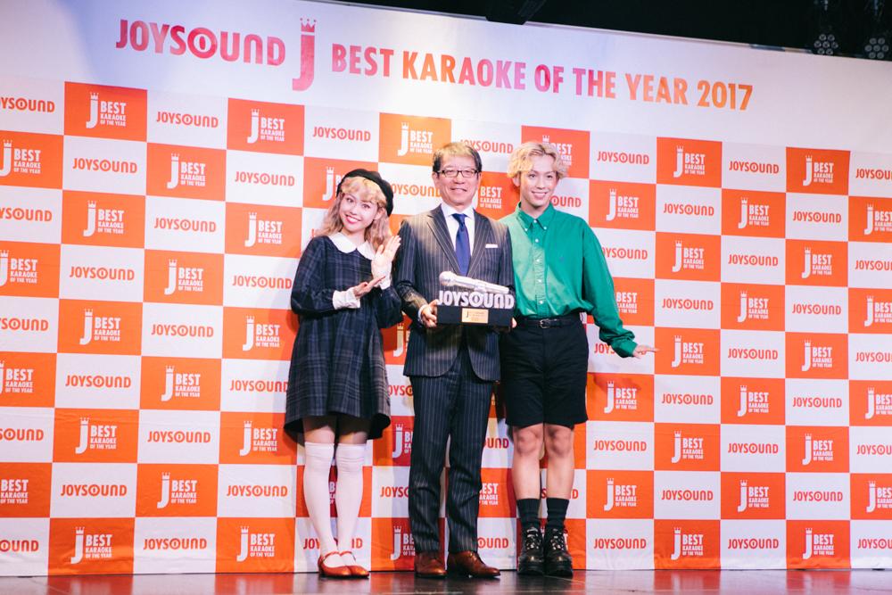 2017年JOYSOUND カラオケ年間ランキング