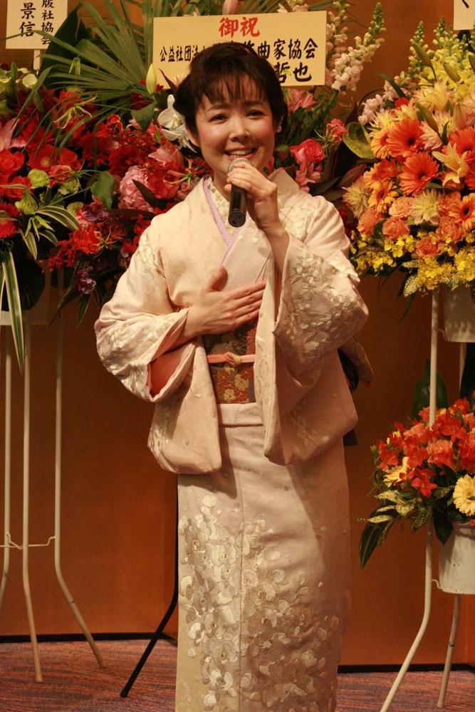 田川寿美の「心化粧」が藤田まさと賞を受賞「感無量です」