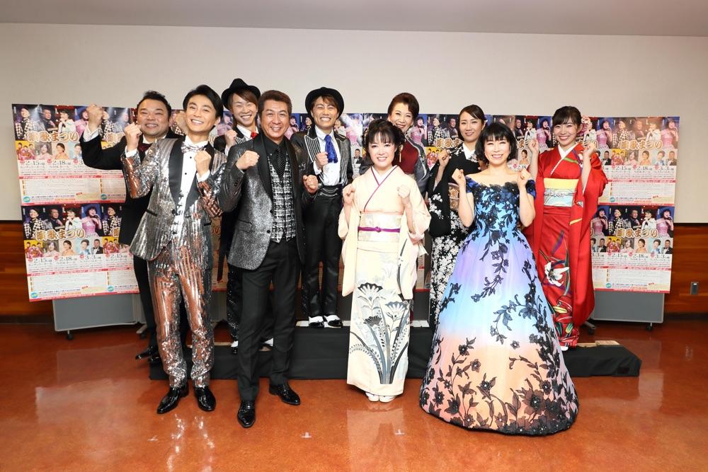 <長良グループ 演歌まつり>山川豊、田川寿美、水森かおり、氷川きよしら9組が昭和の名曲をカバー
