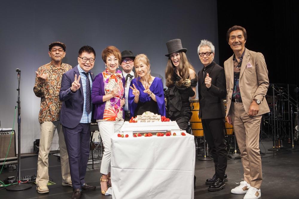 高橋真梨子率いるペドロ&カプリシャス、40年ぶり一夜限りの奇跡の再結成