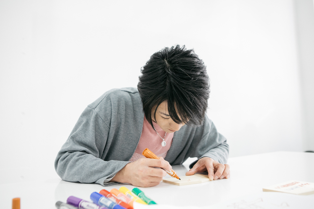 『演歌男子。の絵馬でお絵描きしりとり』第1回:真田ナオキ「シンボリルドルフ」