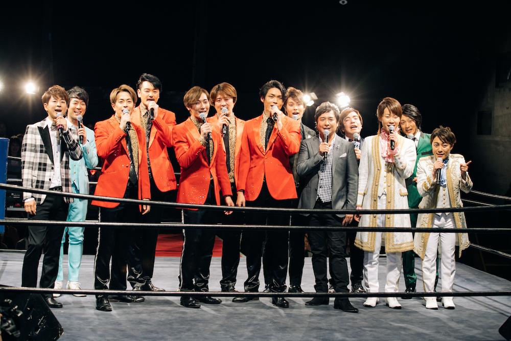 【レポート】松原健之、純烈、はやぶさ、パク・ジュニョンら8組が闘う「昭和歌謡コロシアム☆合戦!演歌男子。」
