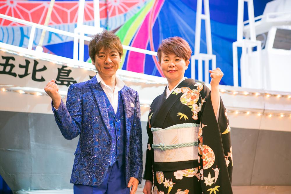 島津亜矢と北山たけしの明治座ジョイントコンサート開催