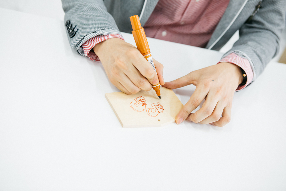 『演歌男子。の絵馬でお絵描きしりとり』第4回:パク・ジュニョン「リス」