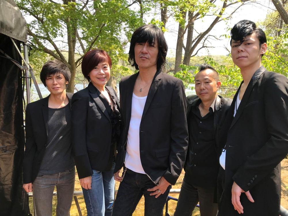 神野美伽 with 古市コータロー + クハラカズユキ feat.山本健太(Piano)青木ケイタ(Sax)