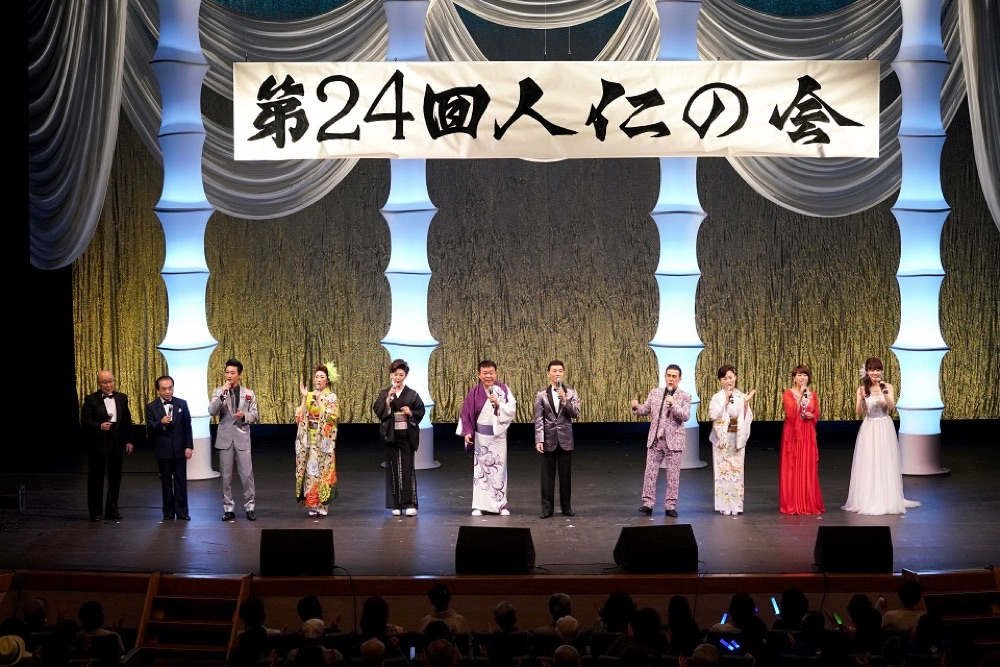渥美二郎、震災チャリティーコンサート「人仁の会」に角川博ら全9人の歌手
