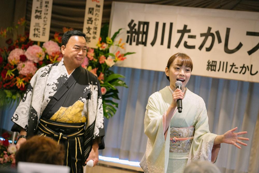 細川たかしが新曲発売記念&バースデーイベント開催、愛弟子・杜このみもお祝い
