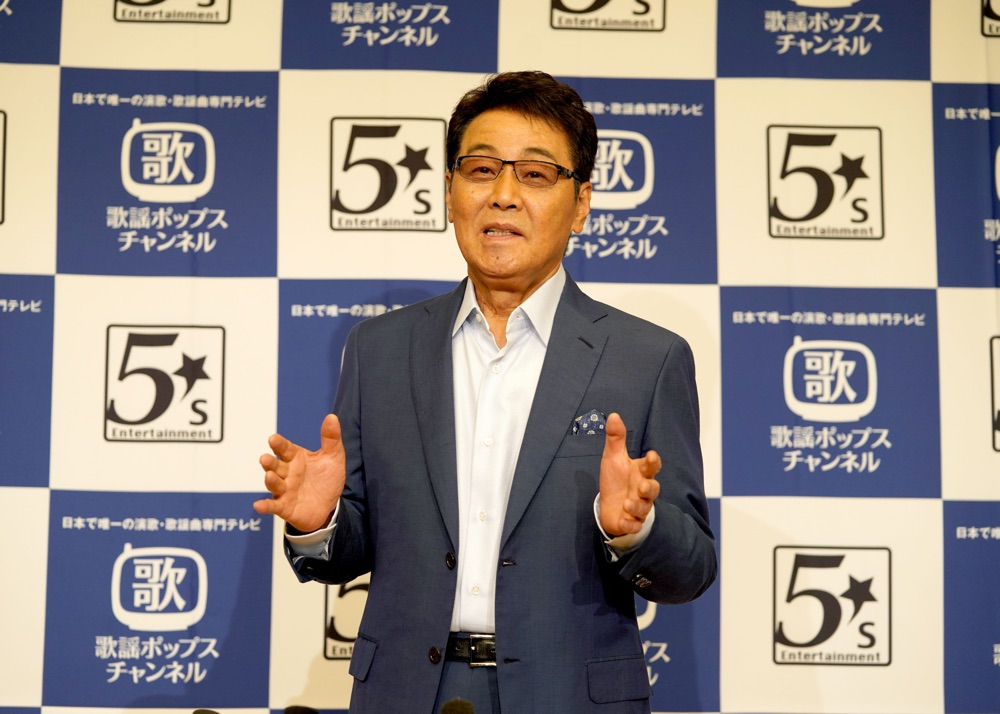 「歌謡ポップスチャンネル」が五木ひろしの大特集を4カ月連続で放送