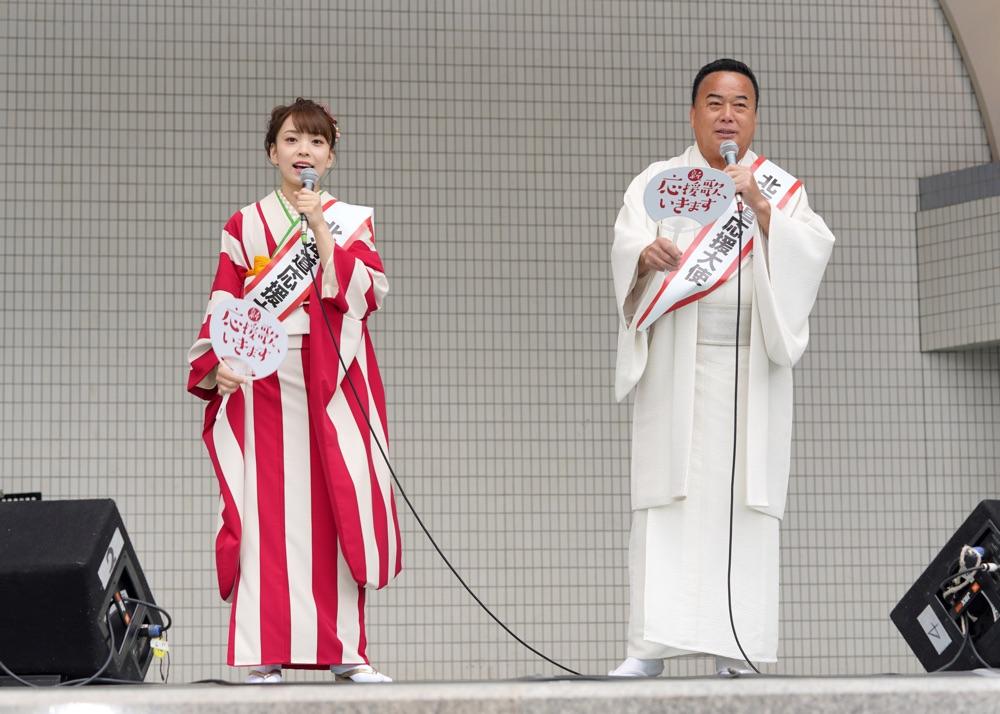 細川たかし、愛弟子・杜このみと「北海道応援大使」デュエット披露