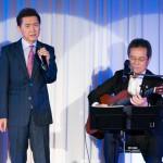 千葉一夫、40周年記念パーティーで師匠・弦哲也と20年ぶりコラボ