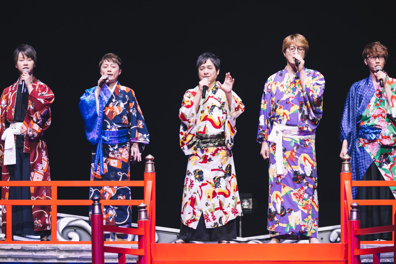 演歌男子。LIVE「五周年ノ宴」に松原健之、純烈、はやぶさ、パク・ジュニョン、徳永ゆうき、真田ナオキ