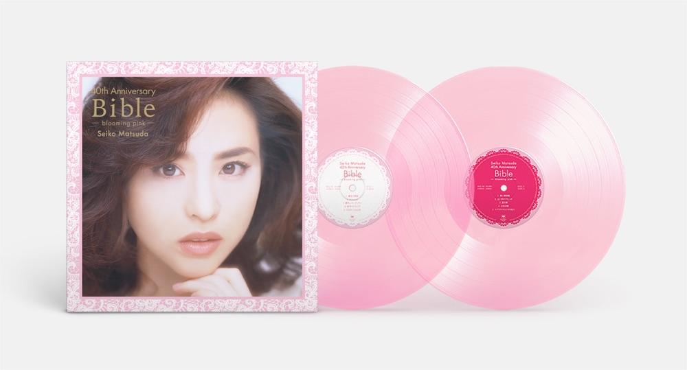 松田聖子 ベスト盤『40th Anniversary Bible -blooming pink-』