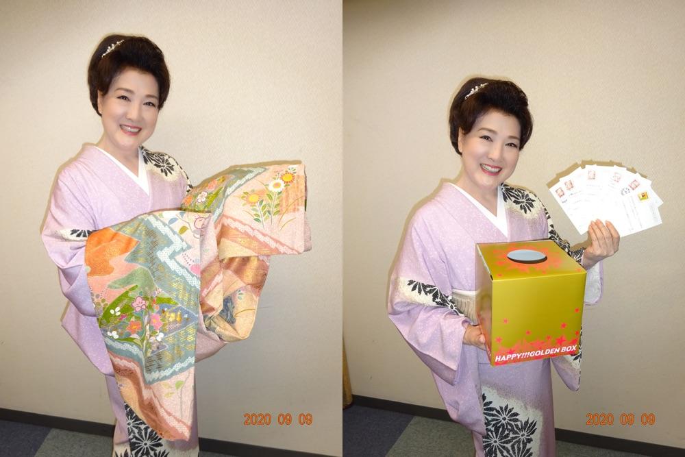 川中美幸、ステージ衣装をプレゼント企画に500通超の応募