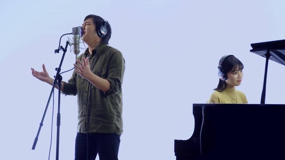 松原健之、15周年記念曲『雪風』のBEYOOOOONDS小林萌花との一発撮りコラボMV先行公開