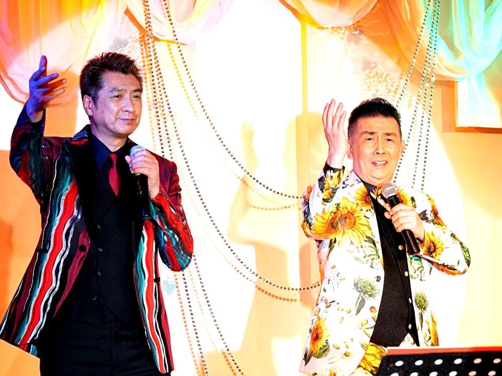 45周年・角川博と40周年・山川 豊が初のジョイントライブ「お互いプロだねぇー」