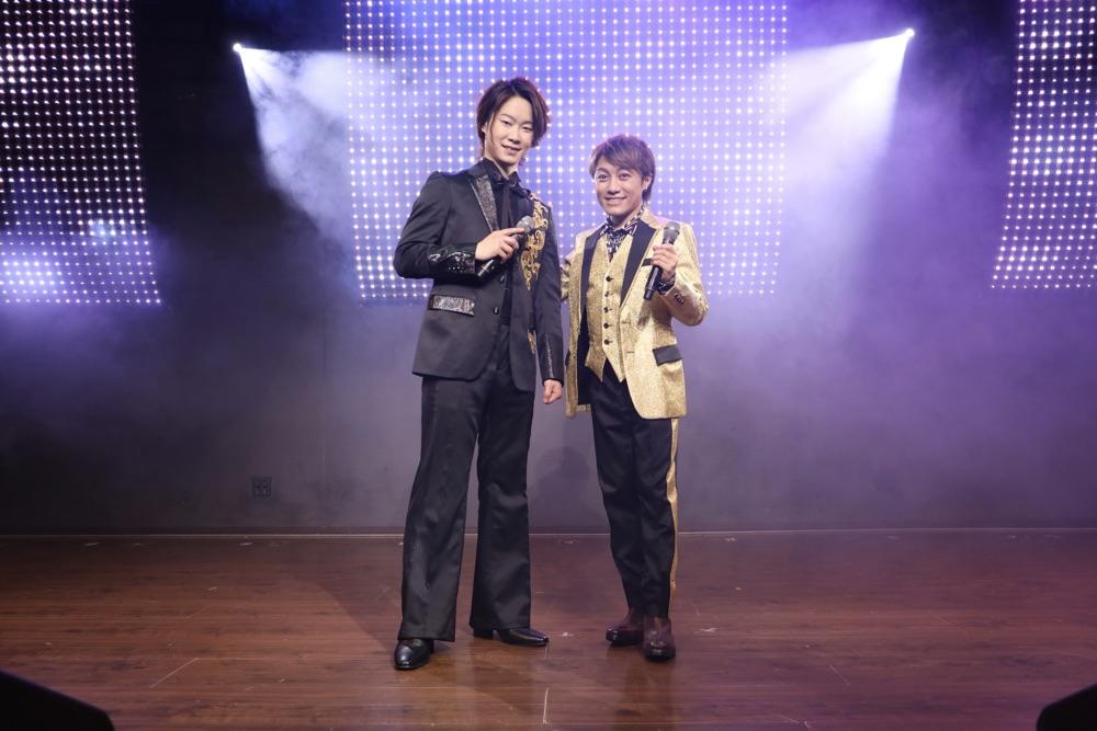 『演歌男子。』第8弾スタート、LIVEステージ第1回目はやぶさがデュエットソング披露