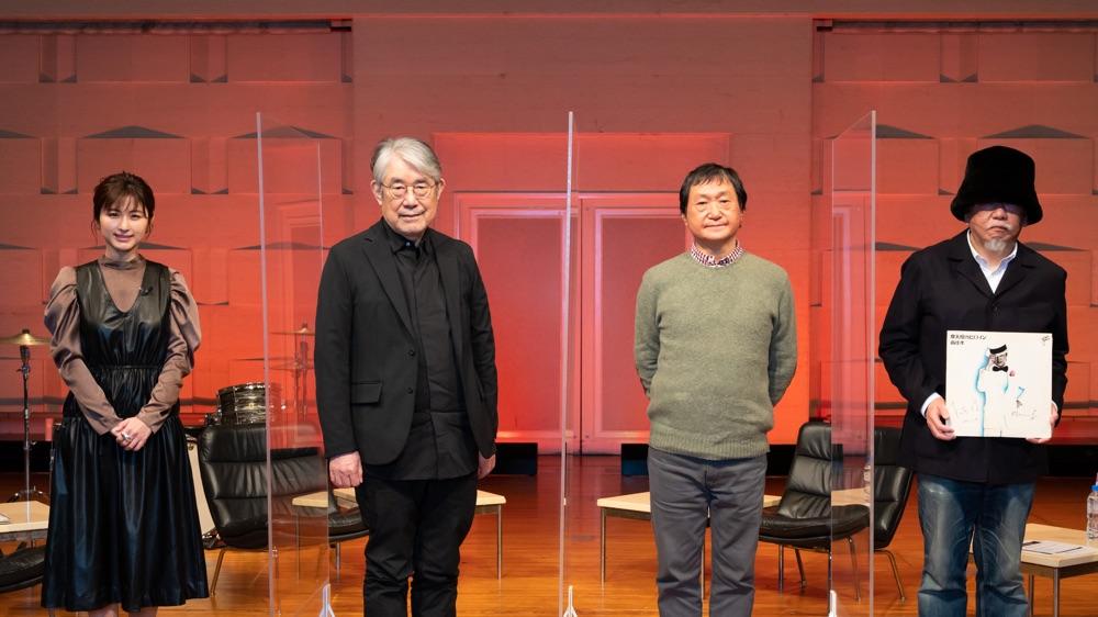 松本 隆 作詞活動50周年記念「風街ちゃんねる」第4回ゲストに南佳孝、小西康陽