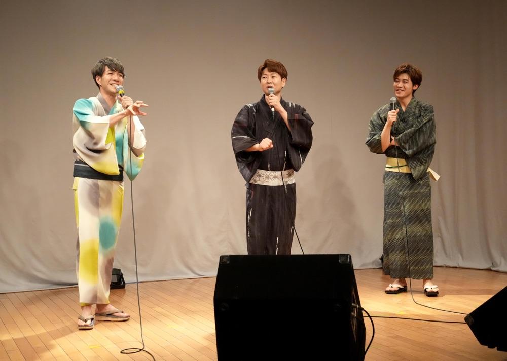 中澤卓也、新浜レオン、パク・ジュニョンが「USEN 唄小屋」第4弾生配信コンサートで共演