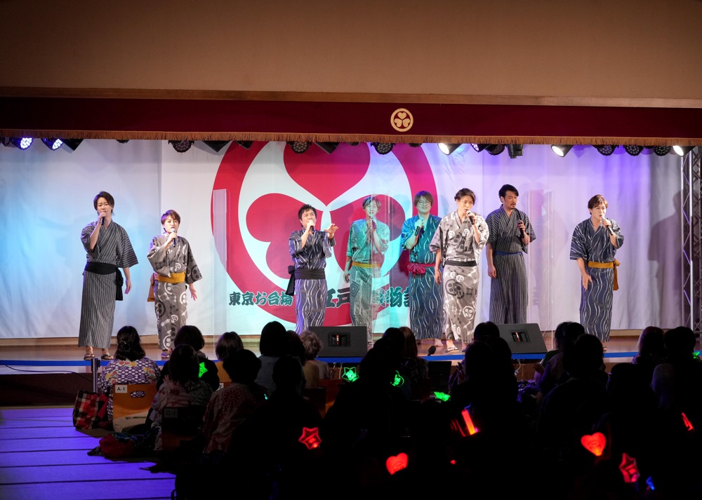 松原健之、純烈、はやぶさ、新浜レオンが大江戸温泉物語で最初で最後の<演歌男子。LIVE>歌謡ポップスチャンネルで放送